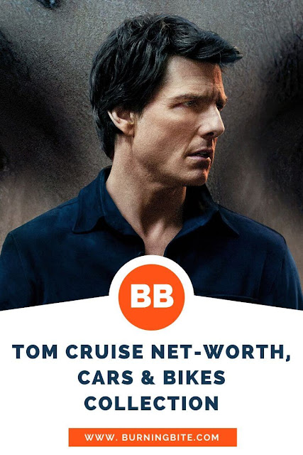 Tom Cruise Net-worth, cars & bikes collection