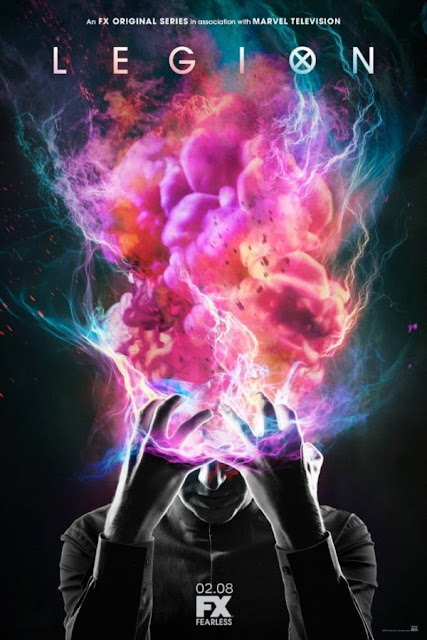 "Nuevo póster de ""Legion"", serie del universo X-Men [Marvel Cómics]."