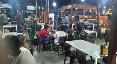 Satgas PPKM Mikro Aceh Barat Gelar Operasi Yustisi Penegakkan Disiplin Prokes Di Kota Meulaboh