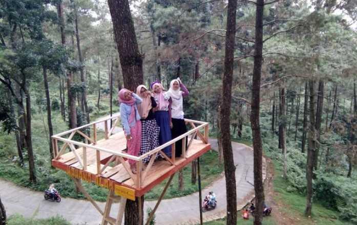 Gardu PandangSikembang Park yang sangat instagramable