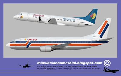 Flota Canarias Regional Air