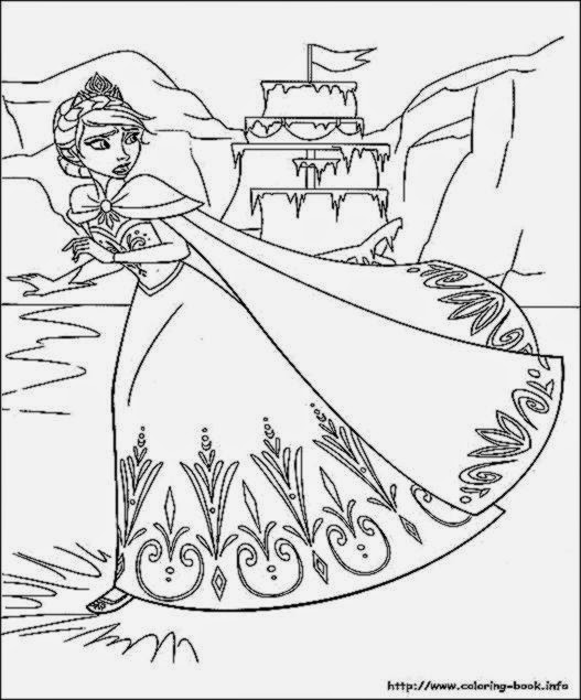disney frozen halloween coloring pages | Disney Frozen Coloring Games Online – Colorings.net