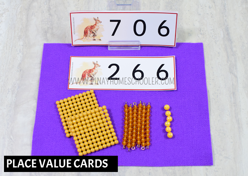 Oceania Australia Themed Math - Place Value Cards