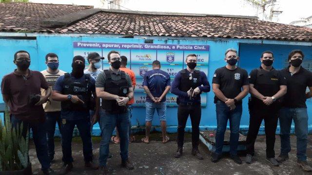 Goiana: Criminosos da lista dos mais procurados são presos pela Polícia Civil.
