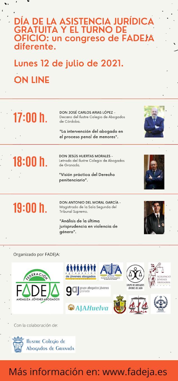 Formación FADEJA | Día de la Asistencia Jurídica Gratuita y del Turno de Oficio