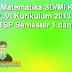 RPP Matematika SD/MI Kelas IV, V, VI Kurikulum 2013 dan KTSP Semester 1 dan 2