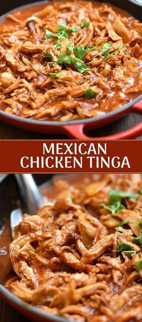 Mexican Chicken Tinga