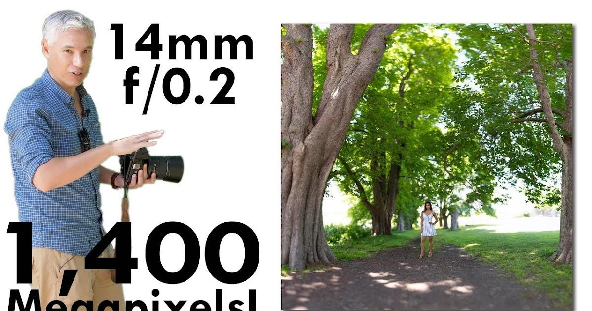 IMPOSSIBLE Portrait: 14mm, f/0.2, 1400 MEGAPIXELS! The Brenizer Method