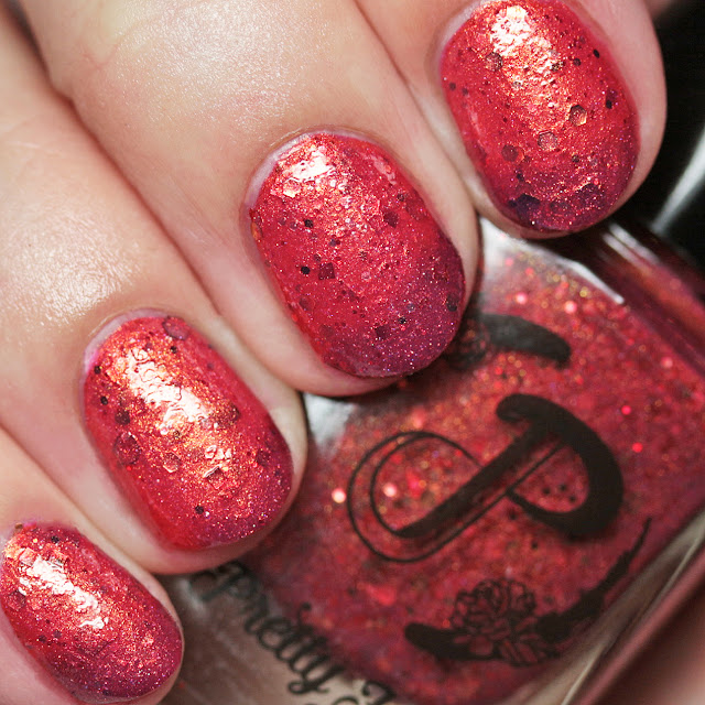 Pretty Jelly Nail Polish 3.14 Pies for Pi Day warm state