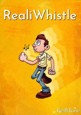 Cover da Library RealiTone - RealiWhistle (KONTAKT)