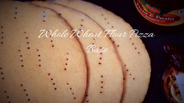 Whole Wheat Flour Pizza Base - Ready to use Whole Wheat Pizza Base