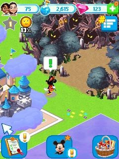 Disney Magic Kingdoms Java Game
