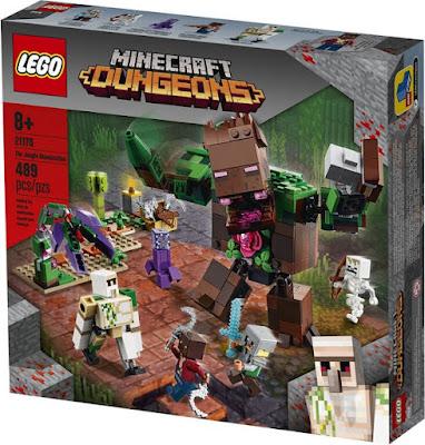 LEGO Minecraft Ужас в джунглата 21176