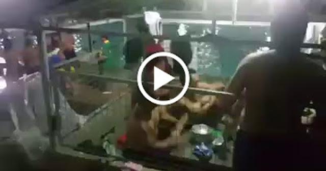 Karambola ng mga  kabataan sa isang resort viral sa Social Media.
