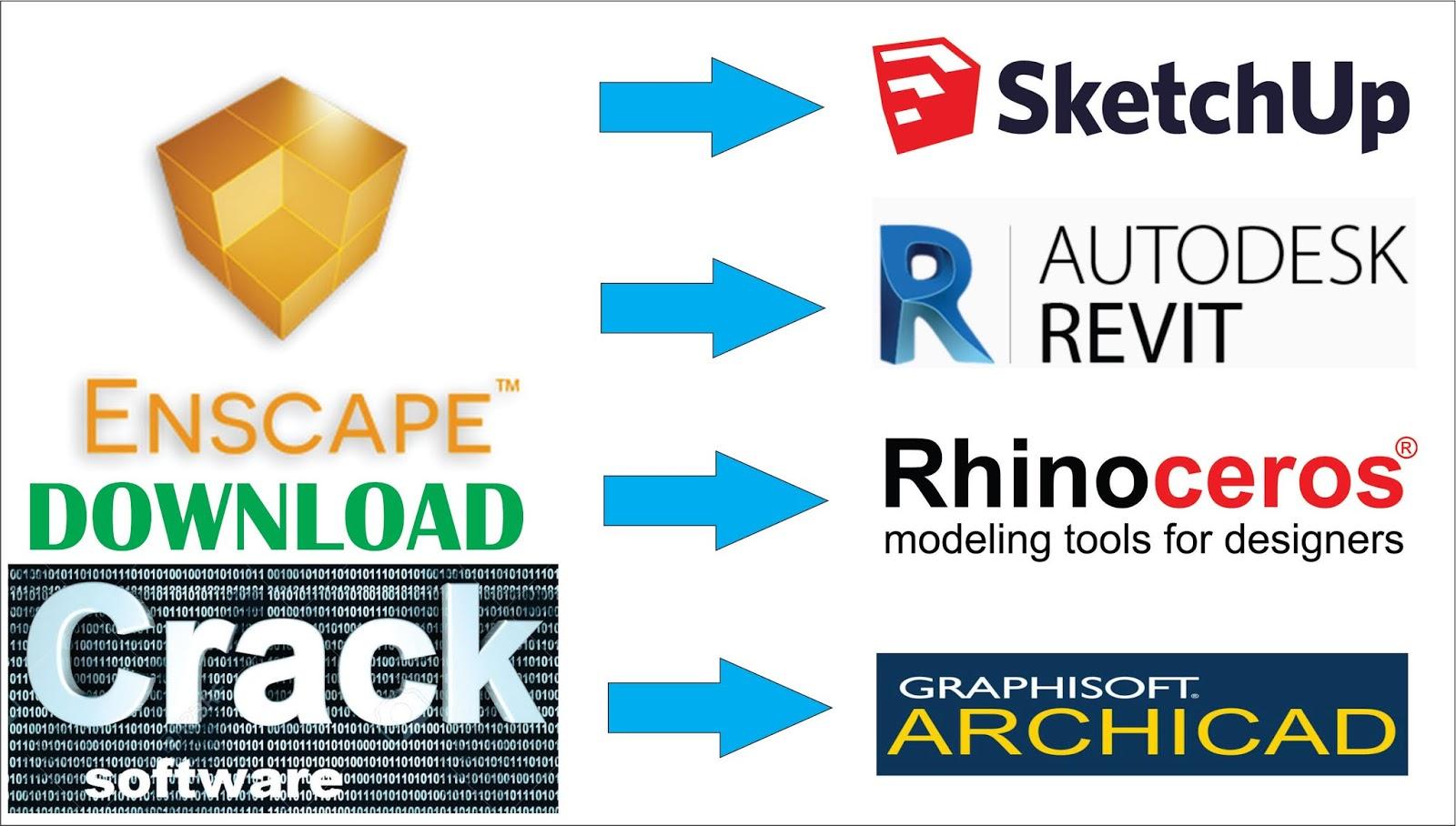 Architechtural Softwares Download: Enscape free with crack