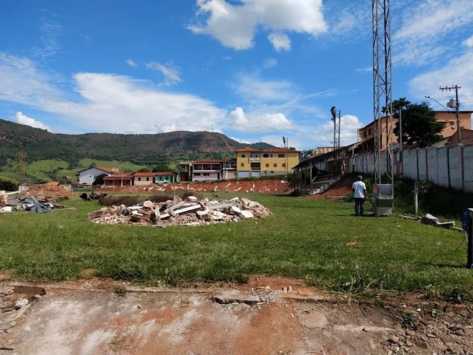 Será Padrão FIFA: Conceição do Mato Dentro inicia construção de estádio