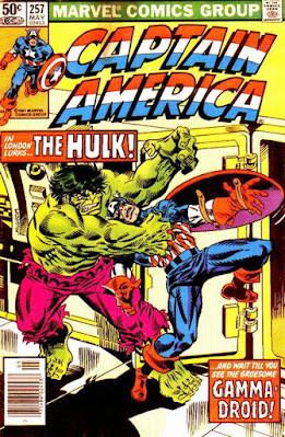 Captain America #257, the Hulk