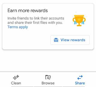 Files Go Rewards