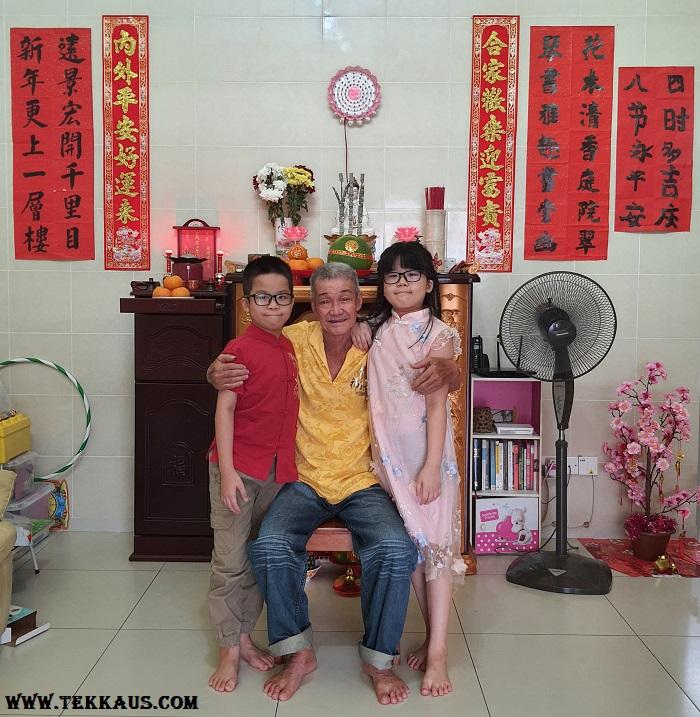 Wearing Matching Shirts During chinese New Year