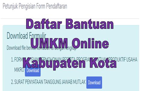 Link Https Siapbersamakumkm Kemenkopukm Go Id Ditutup Ini Cara Daftar Bantuan Umkm Online Go Bizz Com
