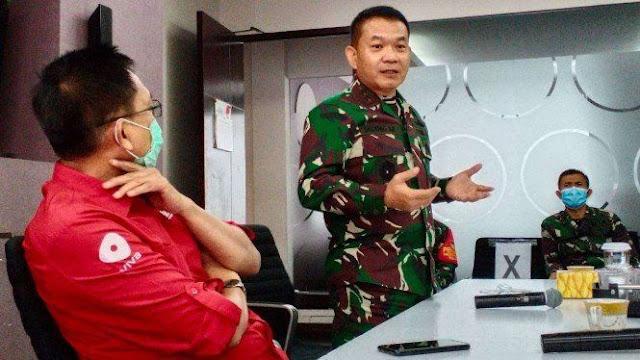Pangdam Jaya: HRS itu Rakyat Biasa, Bukan Musuh TNI