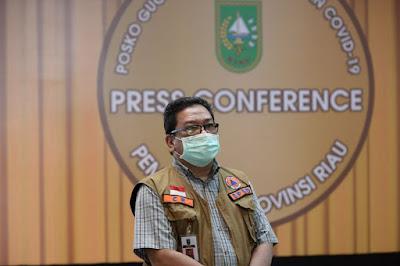 COVID-19 Riau Bertambah 585 Kasus, Inilah Daerah Sebarannya