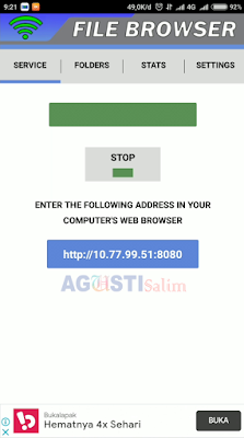 Cara berbagi File dari HandPhone ke Laptop tanpa menggunakan kabel data