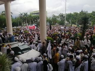 Ribuan Umat Islam Pontianak Turun ke Jalan, Serukan Tolak RUU HIP