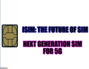 iSIM : The future SIM