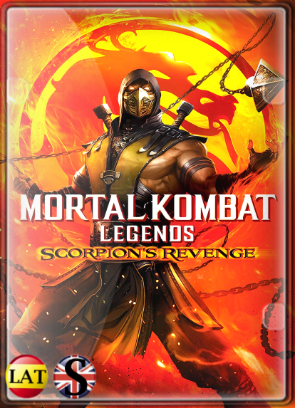 Mortal Kombat Legends: La Venganza de Scorpion (2020) WEB-DL 720P LATINO/INGLES