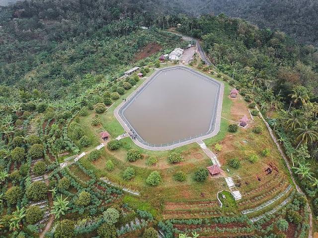 Tiket Masuk Dan Lokasi Embung Banjaroya Kalibawang Kulon Progo