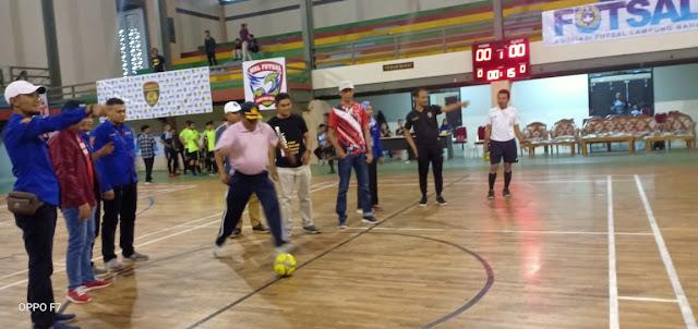 KTI Lambar Kembali Gelar Turnament Futsal