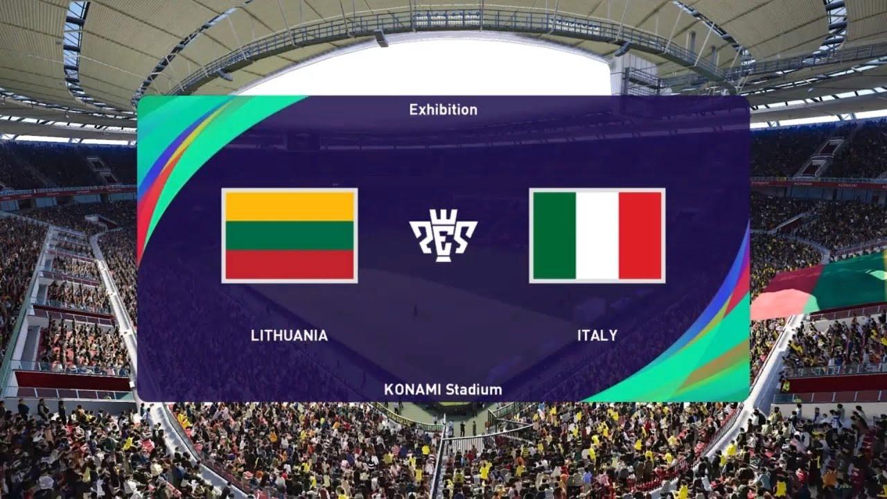 الأن مشاهدة مباراة ايطاليا وليتوانيا بث مباشر اليوم 8-9-2021 في تصفيات كأس العالم 2022 أوروبا مونديال قطر