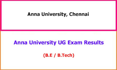 Anna University UG Exam Results