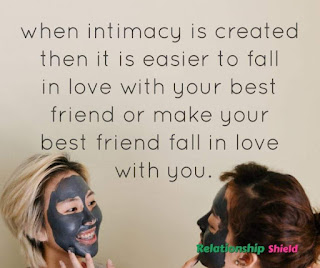 when intimacy is created then it is easier to fall in love with your best friend or make your best friend fall in love with you.