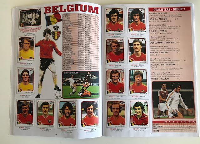 Figurine Belgio Euro 76