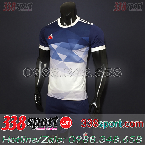 Áo bóng đá không logo tím than đẹp