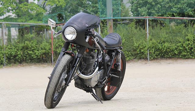 Yamaha SR400 By Motor Garage Goods Hell Kustom