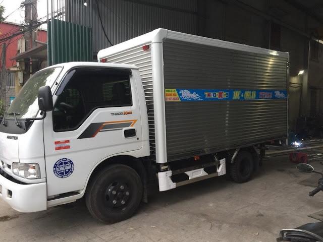 Đóng thùng xe tải Thaco