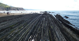 Zumaia, playa de Itzurun.