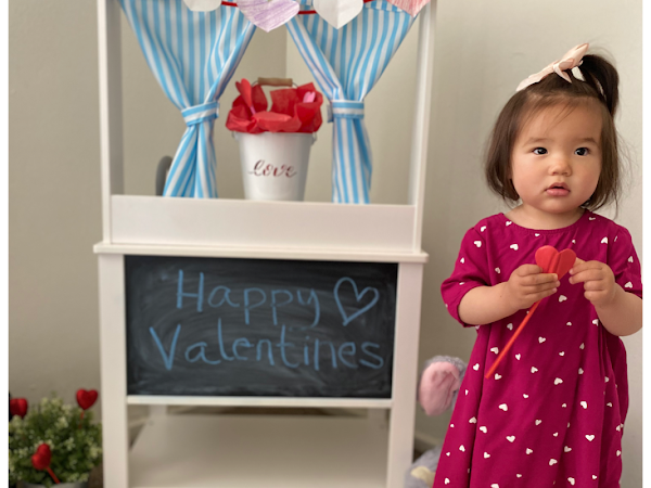 Valentine's Day Photoshoot at Home