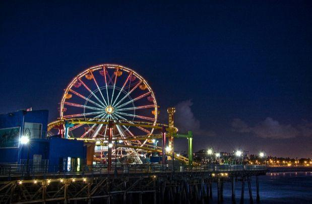 Pacific Park Wheel, Santa Monica, California