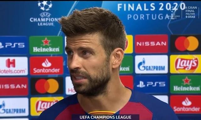 Barcelona perdió 8-2 contra el Bayern Munich por los cuartos de final de la Liga de Campeones de Europa.