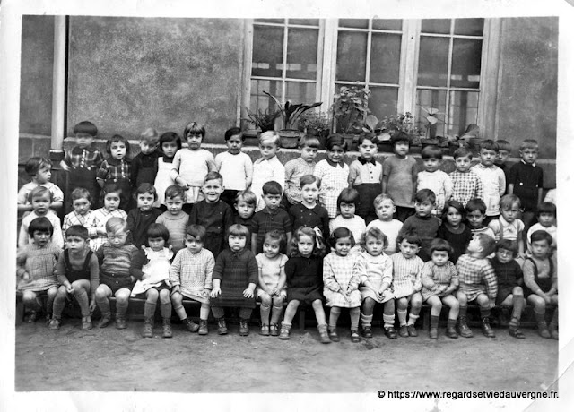 photo de classe, 18 novembre 1938