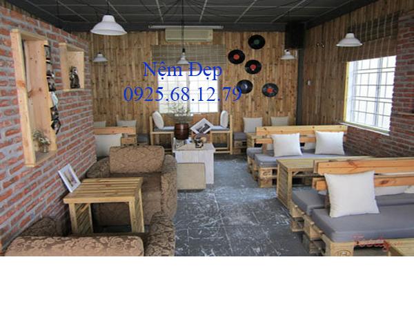 bán nệm ngồi quán cafe