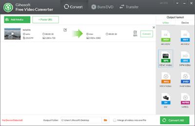 تحميل برنامج Gihosoft Free Video Converter
