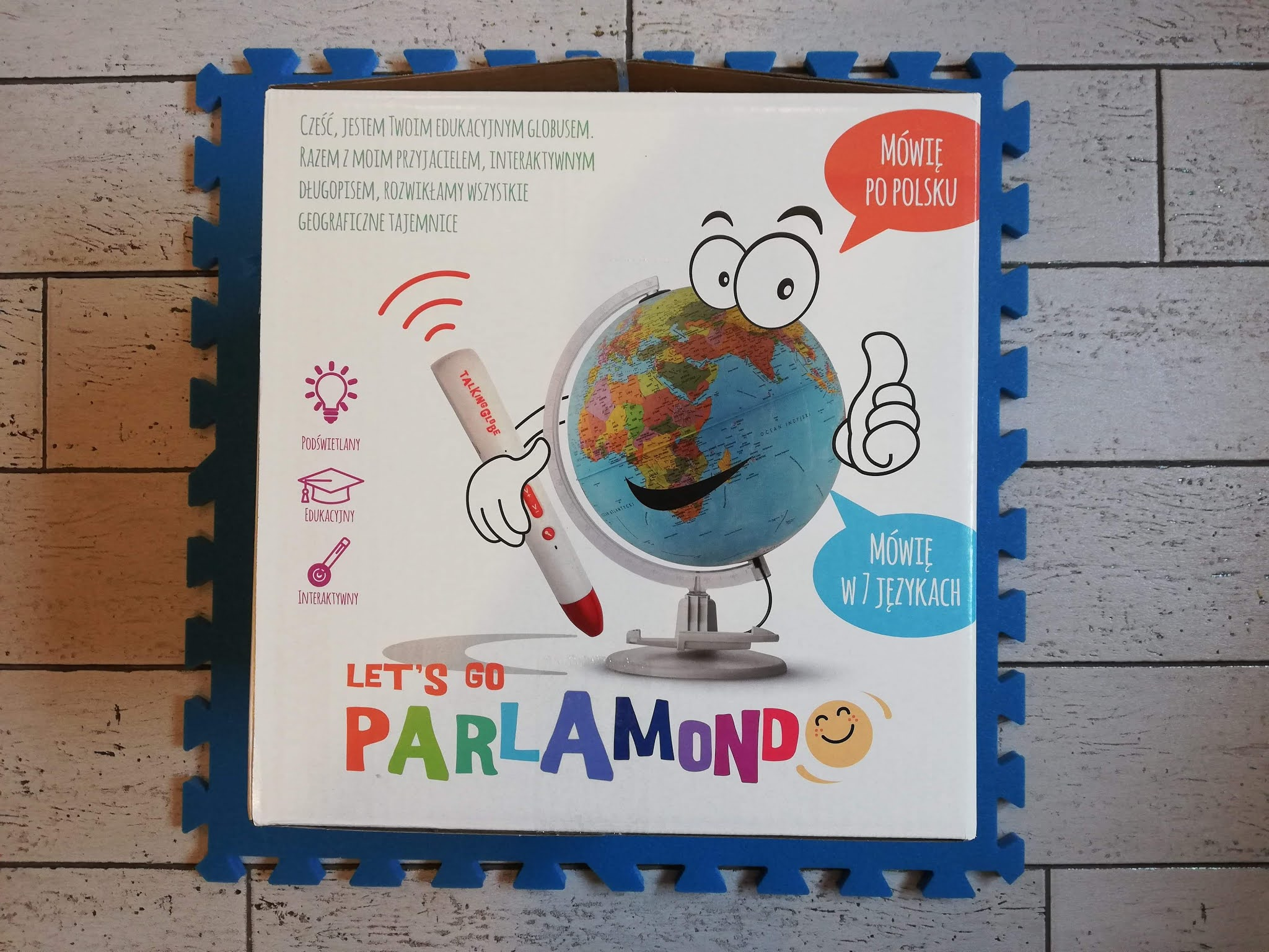 Interaktywny globus dla dzieci - Parlamondo