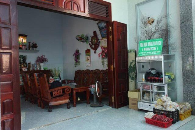 Phòng khách của homestay