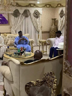 "Twist Of Fate: APC Pays Goodluck Jonathan ""Thank You"" Visit Over Bayelsa Guber Result"