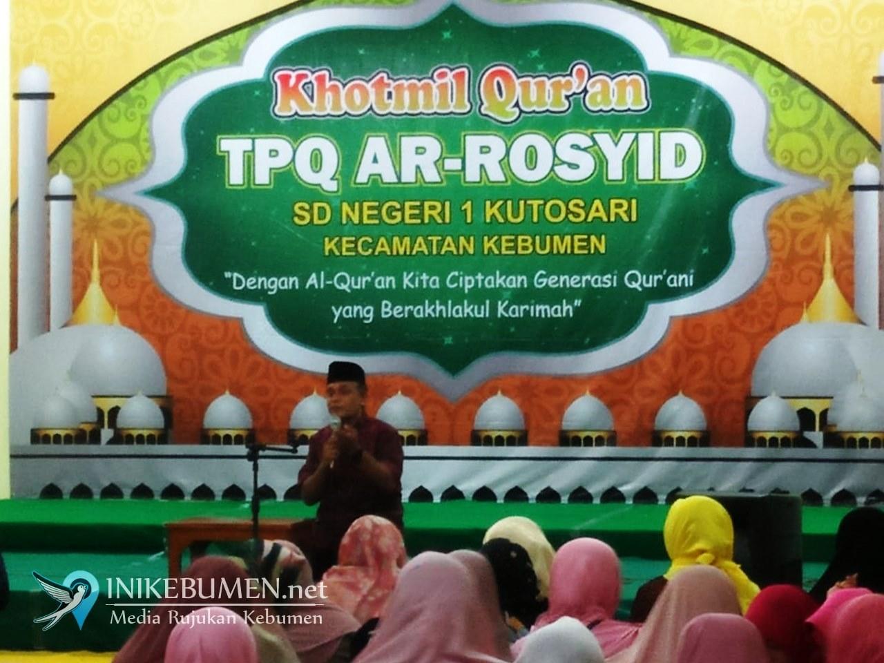 Alhamdulillah, Siswa-siswi Kelas 6 SD N 1 Kutosari Sudah Khatam Quran